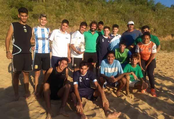 Participantes de Desocha en Ituzaingó