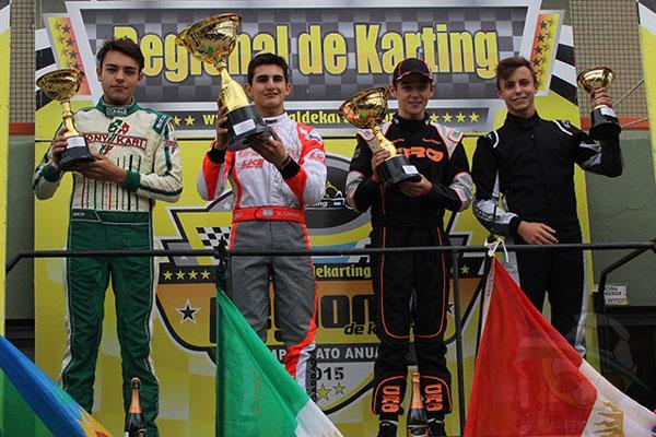 Final: 1. Carrara, Giorgio, 2. Chiarello, Santiago, 3. Piñeiro, Lautaro, 4. Beitia, Iñaki,