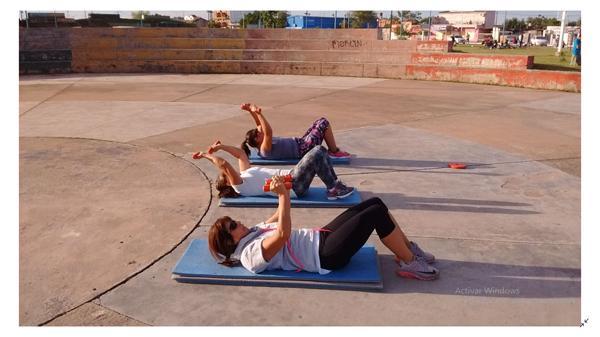 Gran oportunidad para la práctica de gimnasia en el Tiro Federal