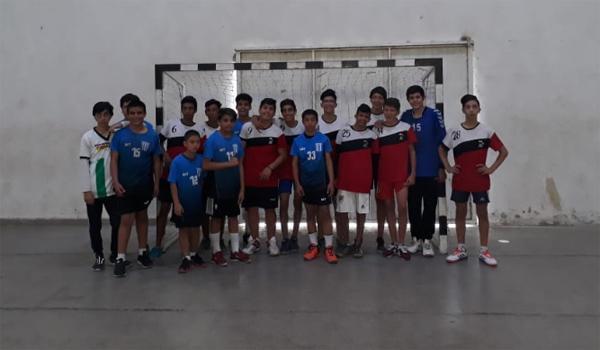 Tirol y Fontana en Handball