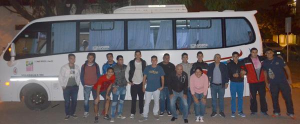 """El hockey de San Fernando partió este miércoles rumbo a la ciudad de Rosario (Santa Fe) donde participará del Argentino de Clubes """"C"""", certamen que comenzó ayer 18 y durará hasta el 21."""