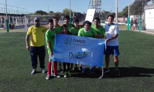 Encuentro de futbol preparatorio Liga barrial y Juegos Evita