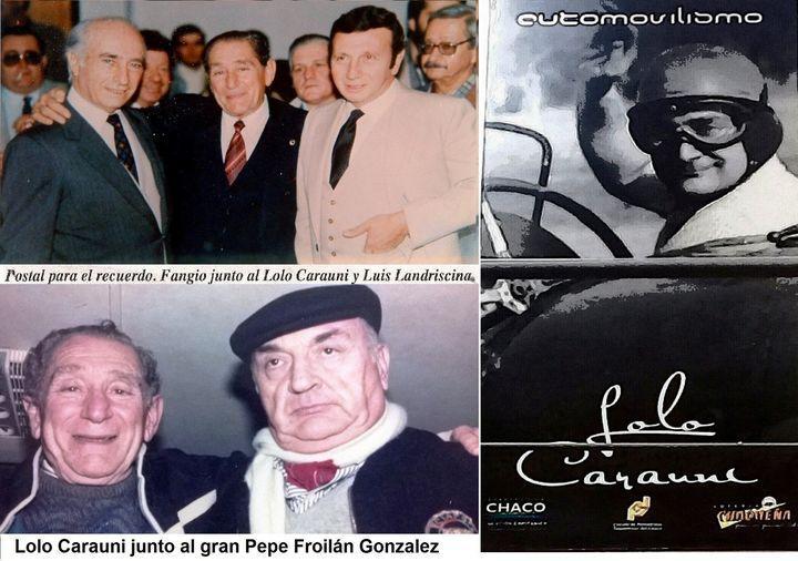 Colagge con Eduardo Lolo Carauni