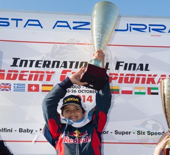 Lucas en lo más alto el podio en Europa