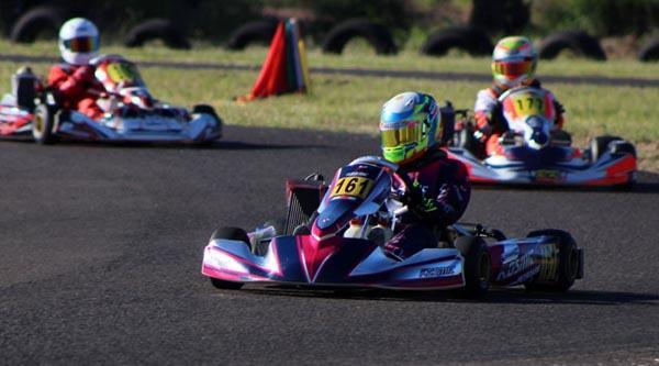 Lucas ganó todo lo que corrió en Charata en la tercera ronda RMC Grande Prix