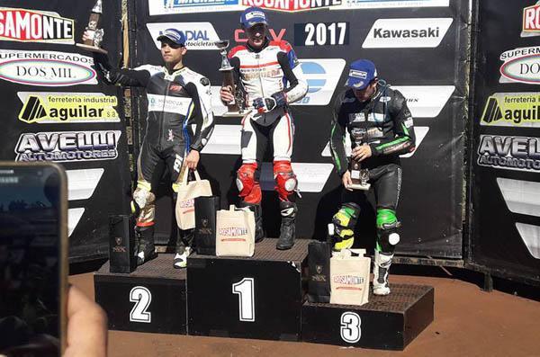 Otro primer lugar del podio para Mauro Passarino