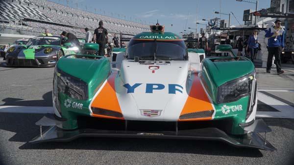 El auto que conducirá Agustín Canpino en Daytona
