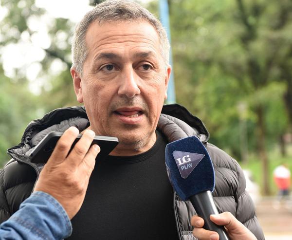 Roberto Sagra, presidente del equipo tucumano.