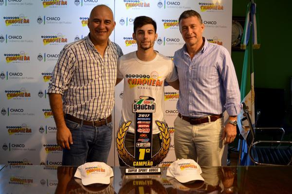 Edy Nuñez, Seba Solóm y Oscar Brugnoli en Lotería