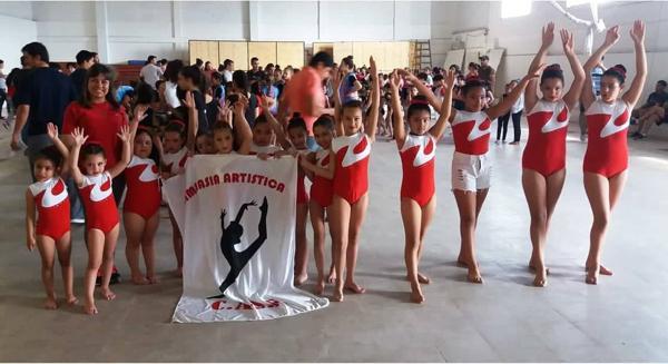 La peqeñas de gimnasia de Sanfer