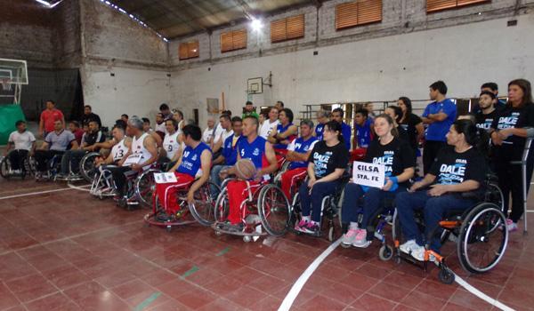 Campeonato Argentino sobre Silla de Ruedas.