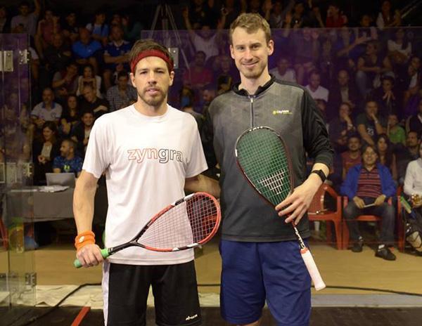 Robertino Pezzota se quedó con lo mejor de la Semana del Squash. Venció al norteamericano Christopher Gordon 11-8, 11-7-11-5