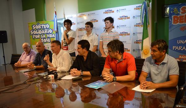 Lanzamiento del Tour de las Américas en Lotería Chaqueña