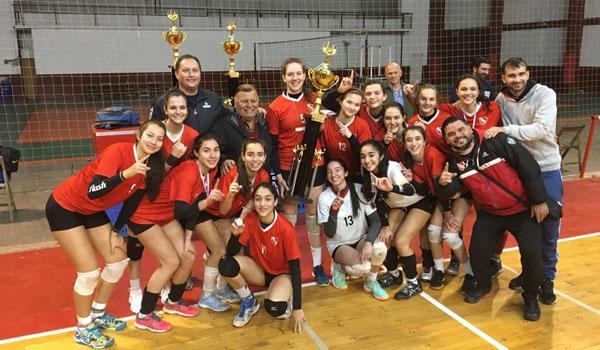 El femenino Sub 17 campeón Provincial
