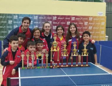 Equipo de Regatas de tenis de mesa en Oberá
