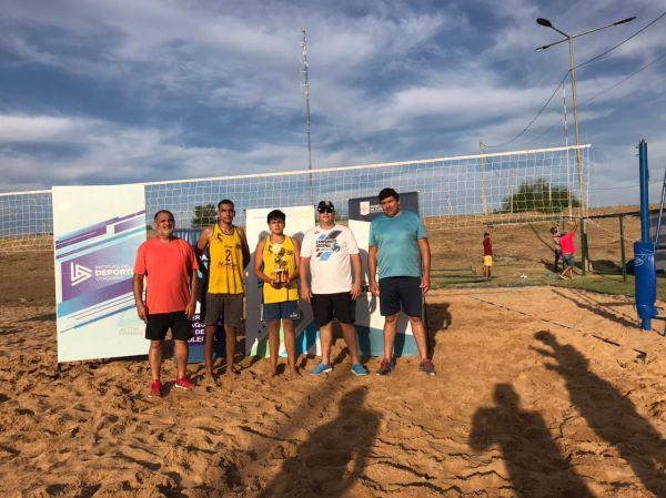 Protagonista del Beach Volley